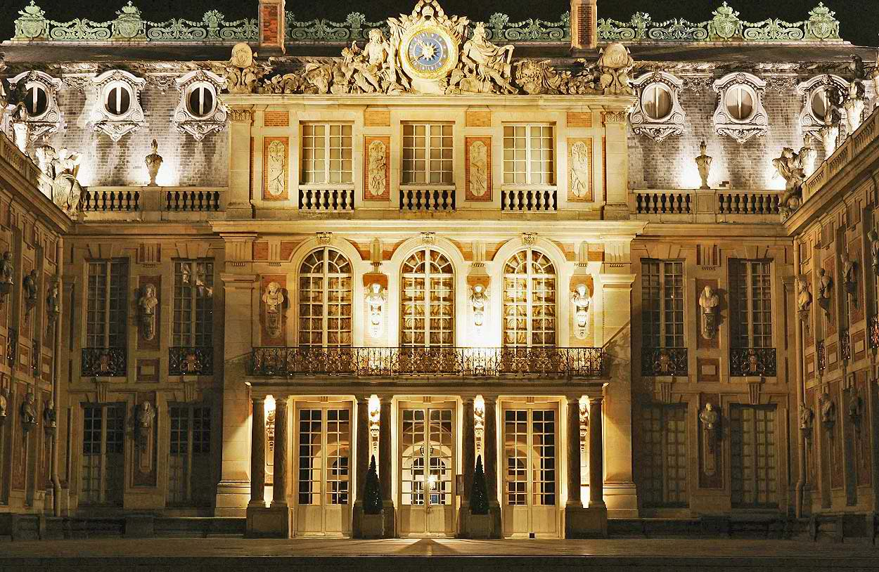 Marie antoinette art architecture in different periods for Pictures of baroque architecture